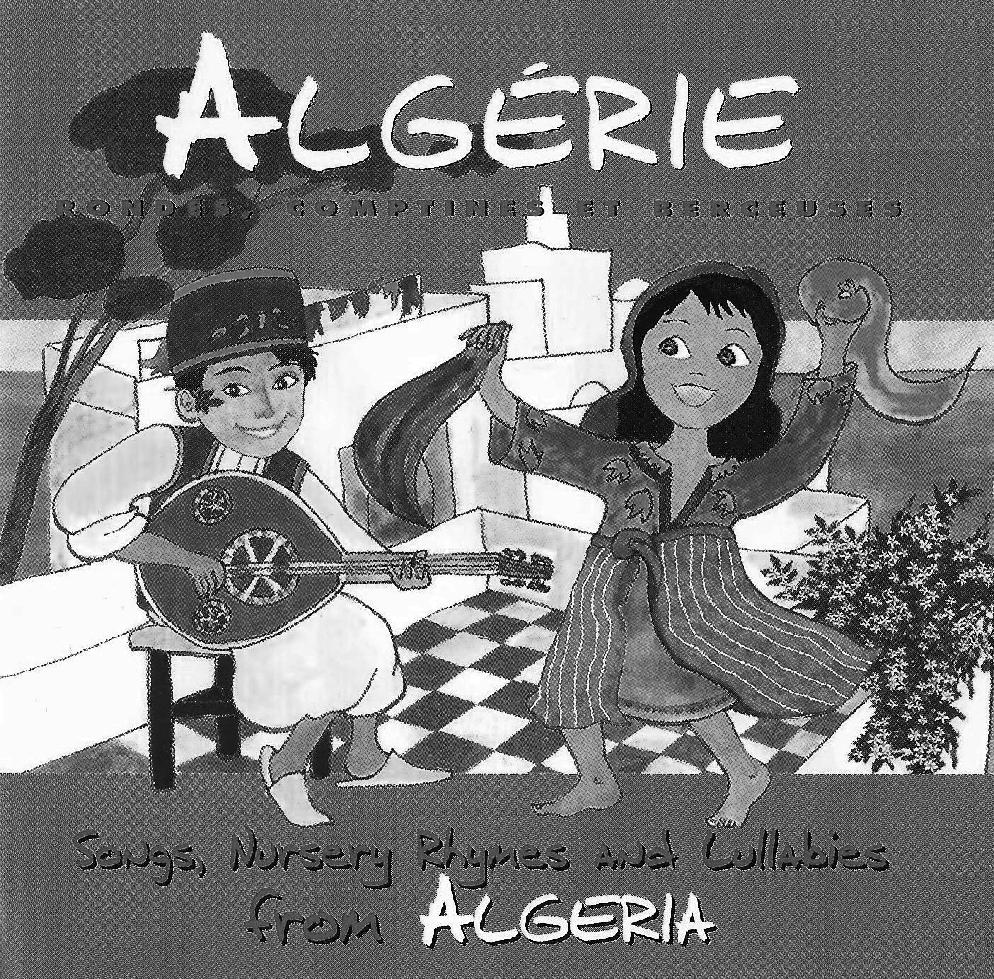 3.Algerie, Rondes Comptines et Berceuses - black