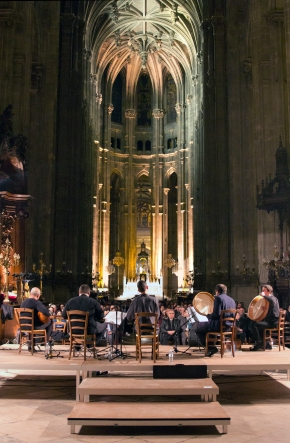 Ensemble Sultan Veled - Eglise Saint Eustache 2013